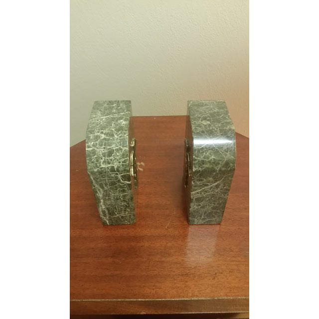Vintage Bey-Berk Marble Medical Profession Bookends - a Pair For Sale In New York - Image 6 of 8