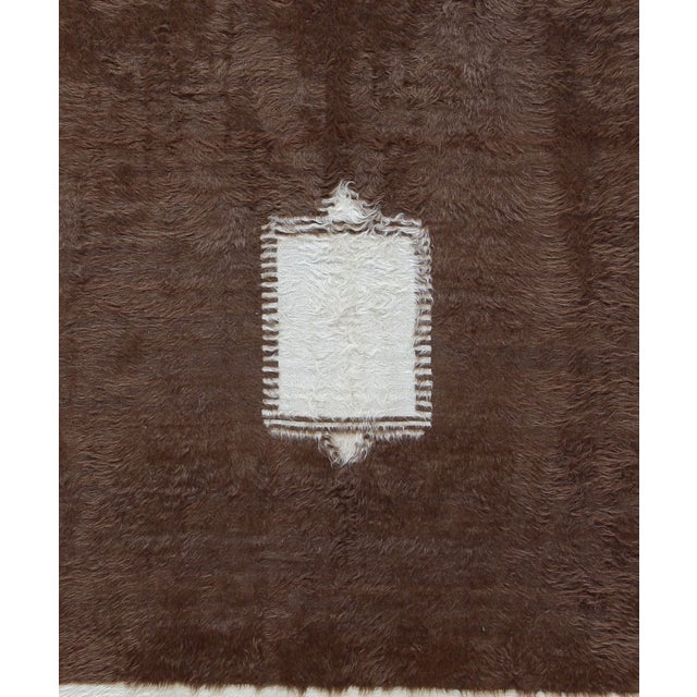Vintage Turkish Mohair Rug - 4' X 6'2 - Image 2 of 2