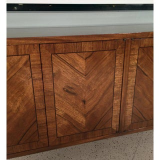1970s Mid-Century Modern Mastercraft Rosewood and Brass Credenza Preview