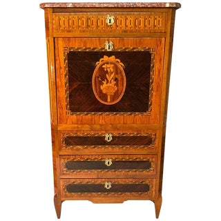 18th Century Louis XVI Fall Top Secretaire For Sale