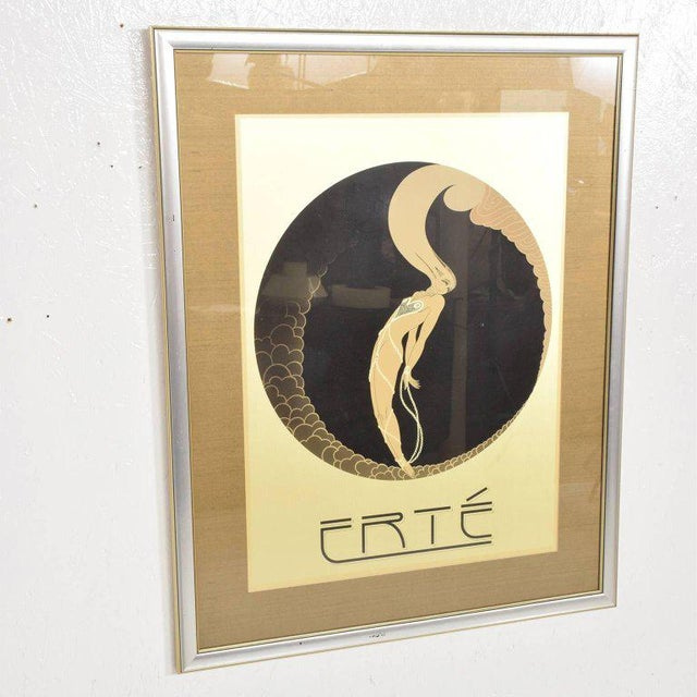 Romain De Tirtoff Erte Art Deco Poster For Sale - Image 4 of 7