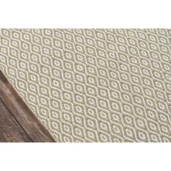 Contemporary Erin Gates Newton Davis Green Hand Woven Recycled Plastic Area Rug 8' X 10' For Sale - Image 3 of 5