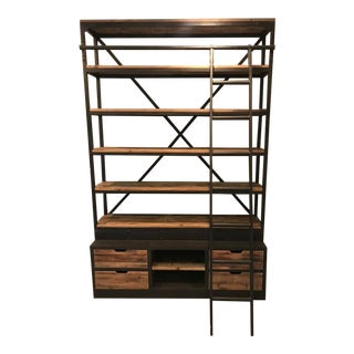 Urban Homes Wood Bookcase For Sale