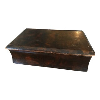19th C. Faux Book Box For Sale