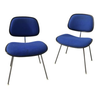 Eames Dcm Chairs for Herman Miller, Pair For Sale