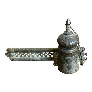 Mid 19th Century Antique Indian Incense Burner For Sale