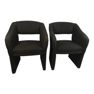 1980s Vintage Carson Chairs- A Pair For Sale