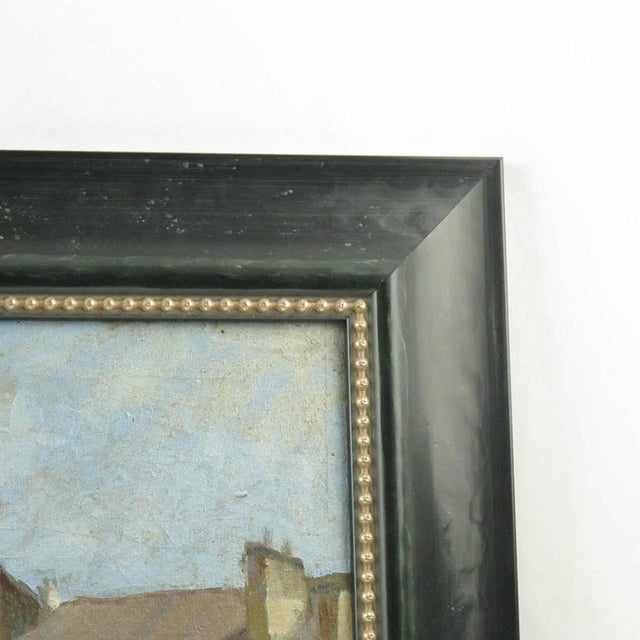 Early 20th Century French Street Scene Oil Painting Signed R. Gori - Image 6 of 8