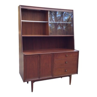 1960s Mid Century Modern Kipp Stewart Dry Bar For Sale