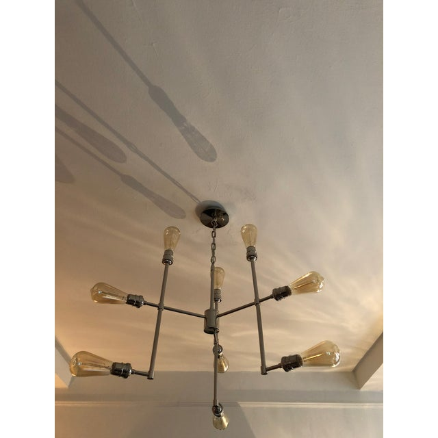 Restoration Hardware Restoration Hardware Varick Chandelier For Sale - Image 4 of 4