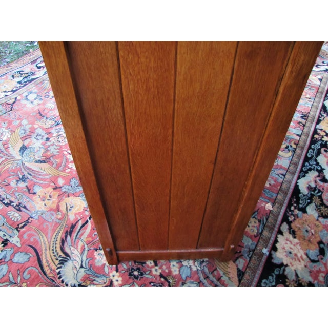 Stickley 1900s Arts and Crafts Gustav Stickley Chest of Drawers For Sale - Image 4 of 13