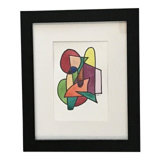 "Original Mixed Media Painting ""Color Theory IV"""