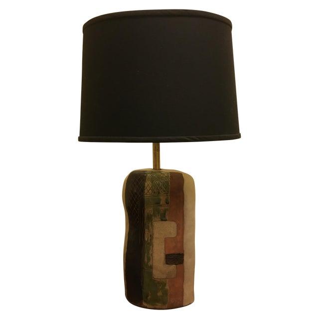 Marianna Von Allesch Cubist Lamp For Sale