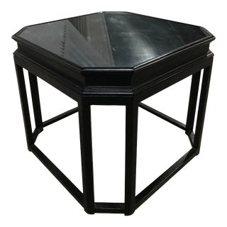 Vintage Century Furniture Cocktail Table in Black Lacquer For Sale