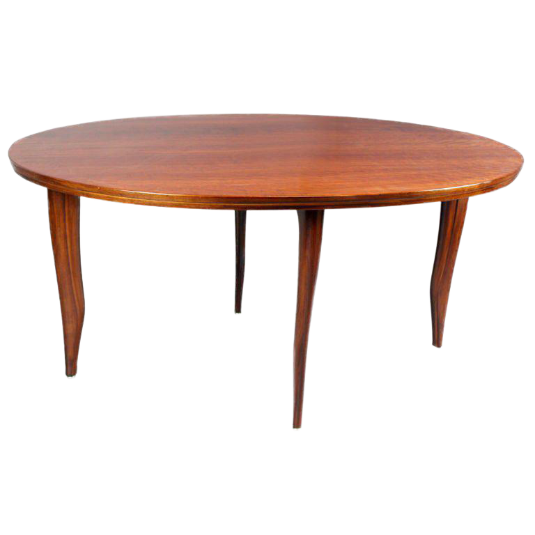 Ray Leach Oval Solid Cherry Dining Table