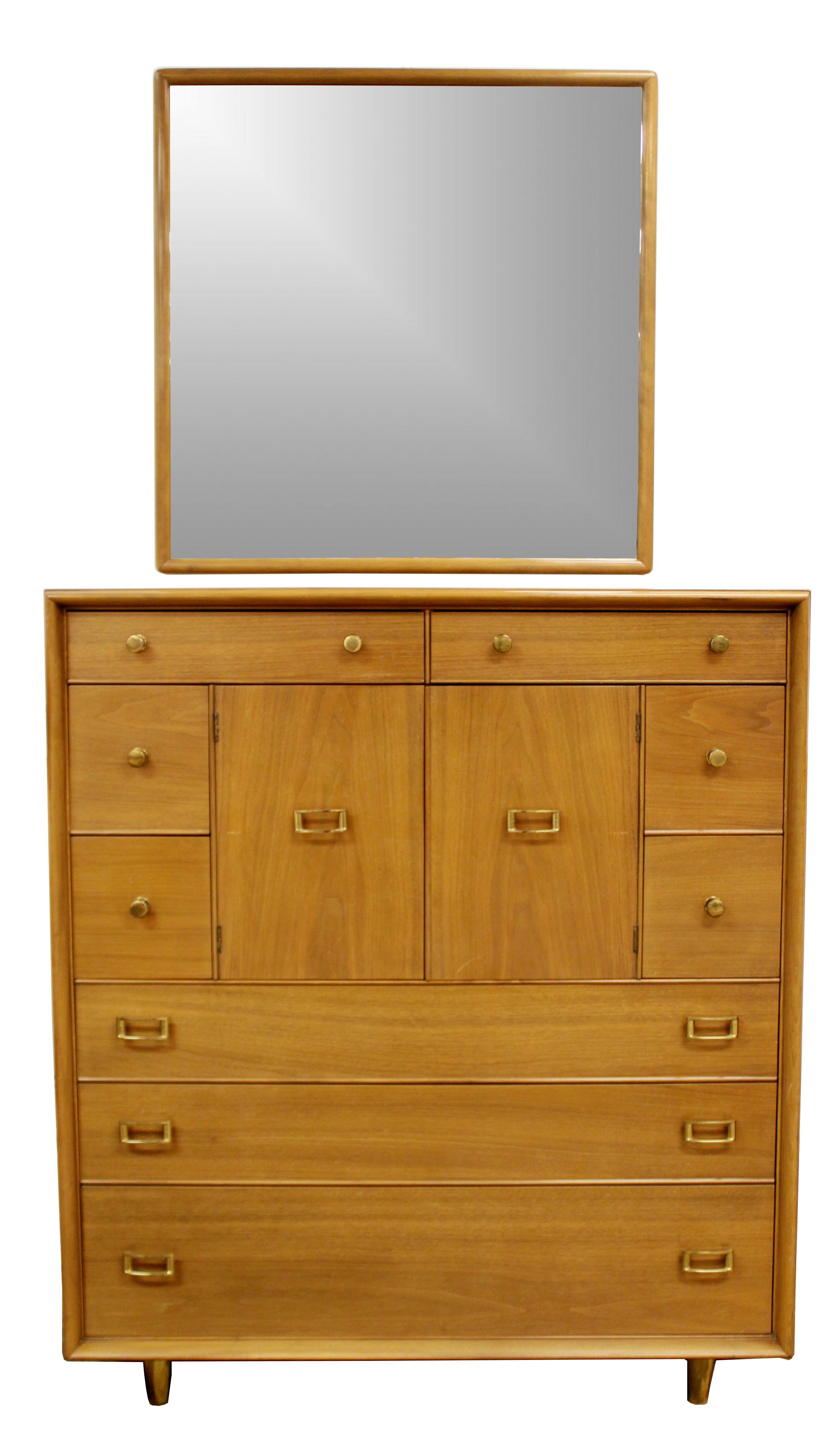 Mid Century Modern Paul Frankl Satin Birch Emissary Complete Bedroom Set    Image 5 Of