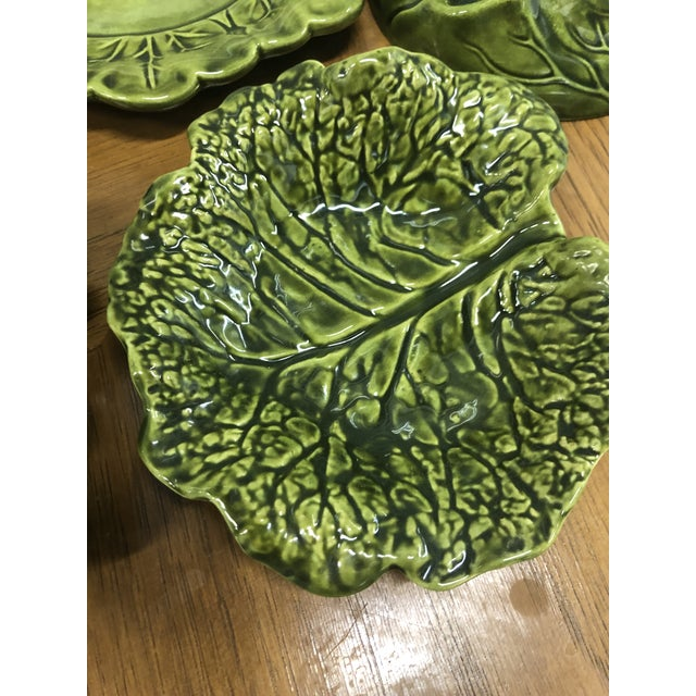 Green Holland Ceramics Cabbage Soup Tureen With Sharable Plates - 4 Pieces For Sale - Image 8 of 12