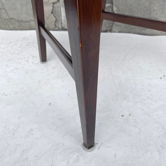 Mid-Century Modern Walnut Desk Chair For Sale - Image 10 of 12