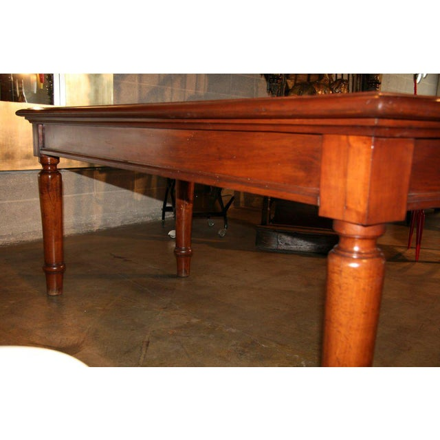 Italian Table in cherry wood. 1920s For Sale - Image 4 of 9