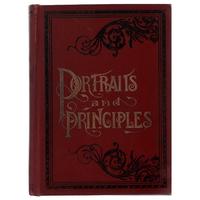 """Late 19th Century 1894 """"Portraits/Principles of Great Men/Women"""" Collectible Book For Sale - Image 5 of 5"""
