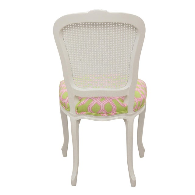 Louis XV Cane Back Accent Chair - Image 5 of 6