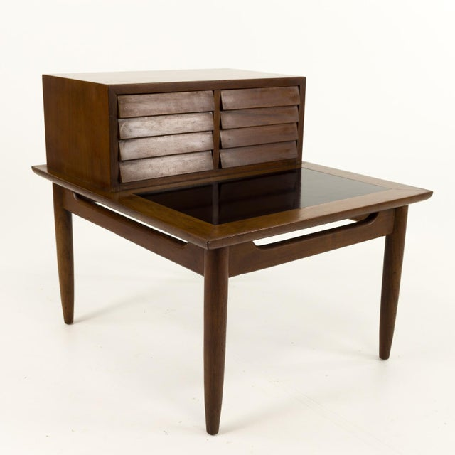 Mid Century Modern Merton Gershun for American of Martinsville Nightstand For Sale - Image 10 of 10