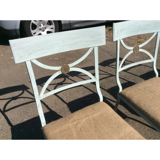 1920s French Empire Chairs - Set of 4 For Sale - Image 5 of 11
