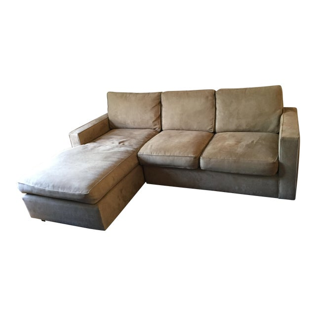 Room & Board York Sectional Sofa With Chaise Lounge - Image 1 of 11