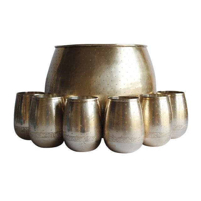 Vintage Brass Punch Set - Image 1 of 5