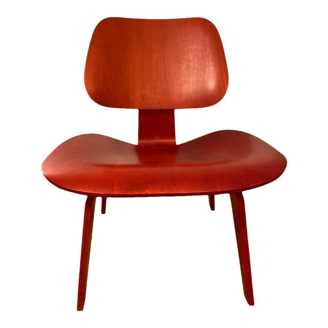 Eames Molded Plywood Lounge Chair For Sale