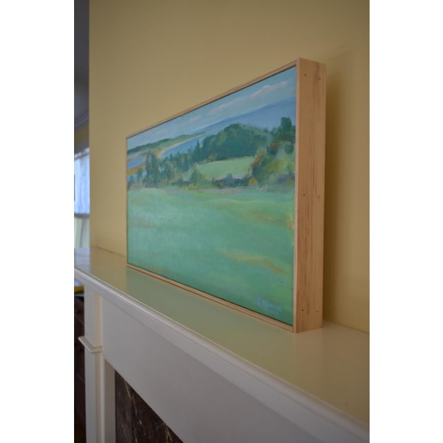 """Paint """"Summer Days"""" Stephen Remick Contemporay Plein Air Painting For Sale - Image 7 of 10"""