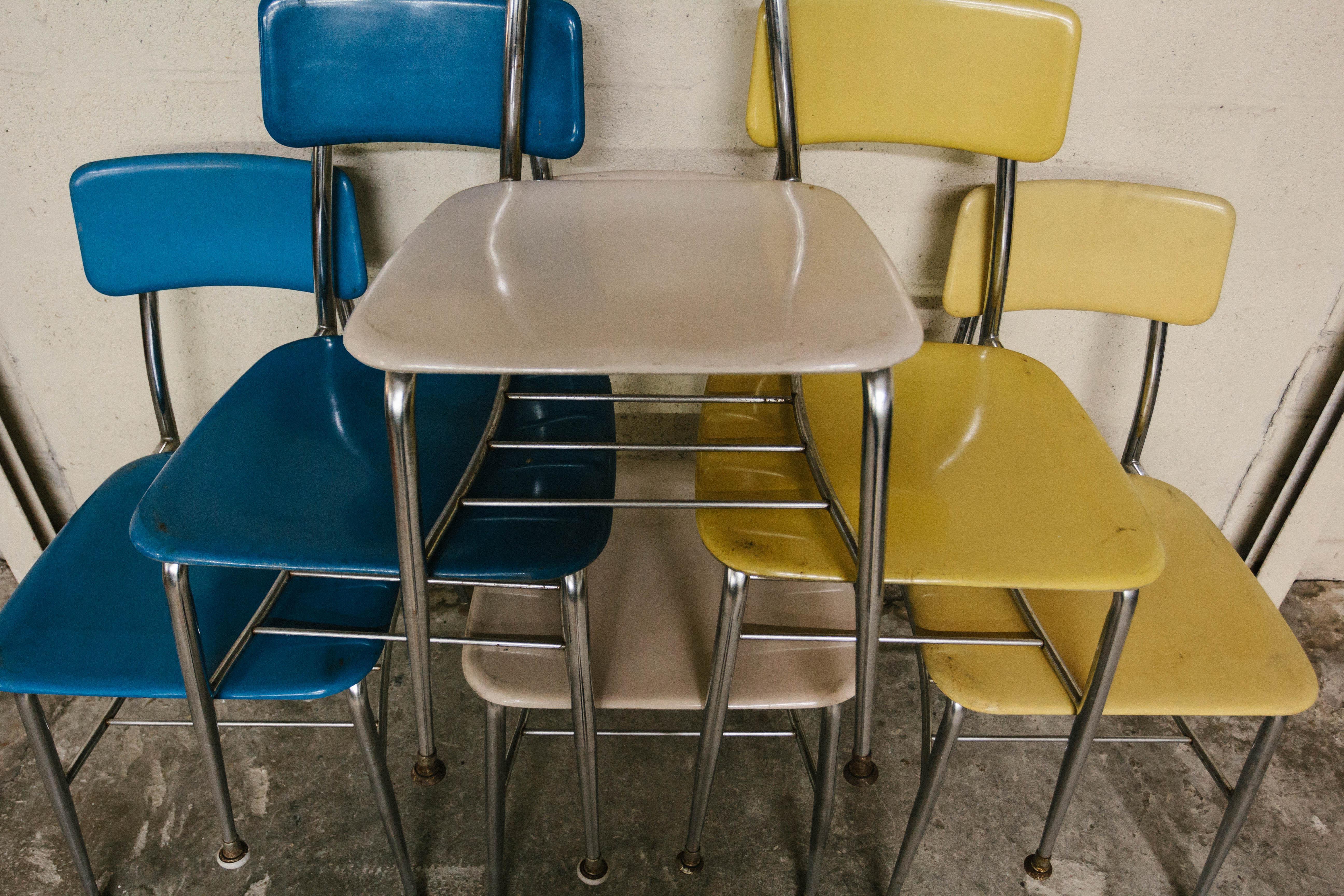Heywood Wakefield Vintage School Chairs   Set Of 6   Image 6 Of 7