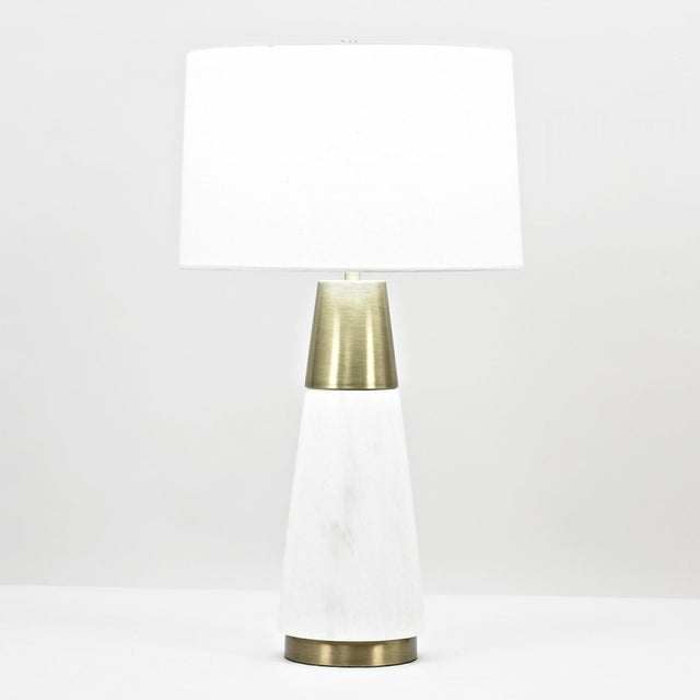 Contemporary Morris Table Lamp For Sale - Image 3 of 4