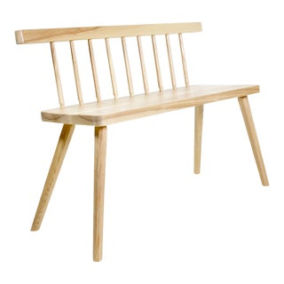 Contemporary Futari Minimalist Bench For Sale