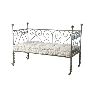 Antique Style Metal Day Bed For Sale