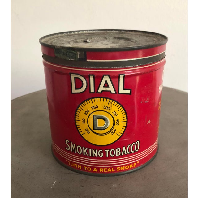 Vintage Tobacco Tin With Labels For Sale In Los Angeles - Image 6 of 10