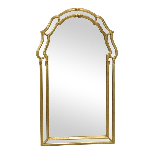 Italian Gilt Wood Wall Mirror - Image 1 of 5
