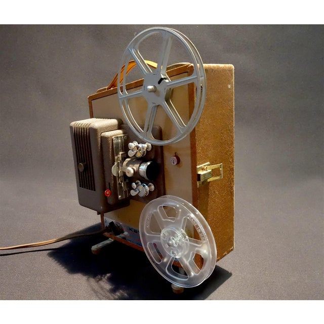 Keystone Movie Projector Circa 1952 for Home or Office Display. Pretty Deco Look. For Sale - Image 10 of 10