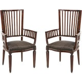 Image of 20th Century Rose Tarlow Armchairs - a Pair For Sale