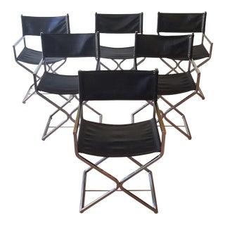 1960s Robert Kjer Jakobsen Dining Chairs for Virtue Bros. Mfg. - Set of 6 For Sale