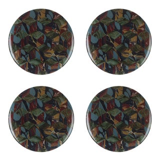Studiolo Style B Dinner Plate - Set of 4 For Sale