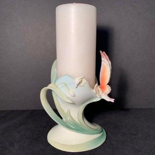 Franz Collection Papillon Butterfly Pillar Candleholder Fz00446 Preview