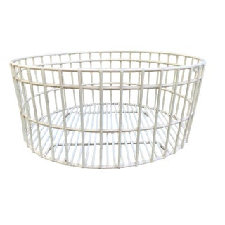American Industrial Wire Basket For Sale