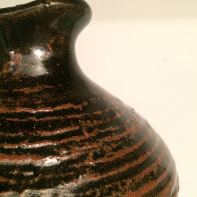 Glazed Ceramic Urn - Image 5 of 7