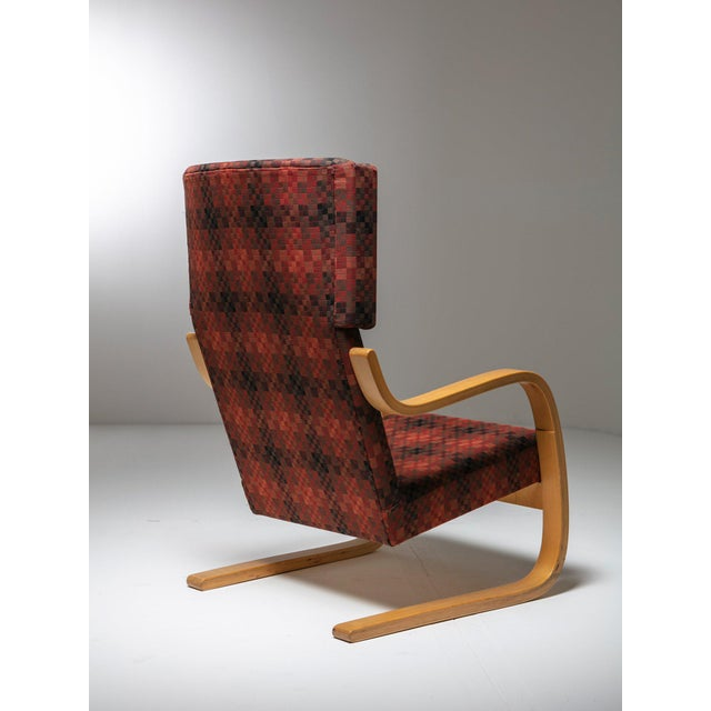 "Alvar Aalto Rare Set of ""401"" Lounge Chairs by Alvar Aalto for Artek For Sale - Image 4 of 6"