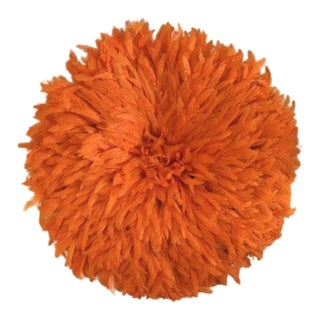 Boho Chic Orange Juju Hat
