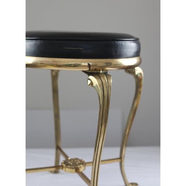 Hollywood Regency Style Vanity Stool - Image 5 of 7