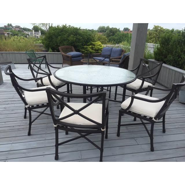 Brown Jordan Outdoor Dining Table - Image 2 of 2