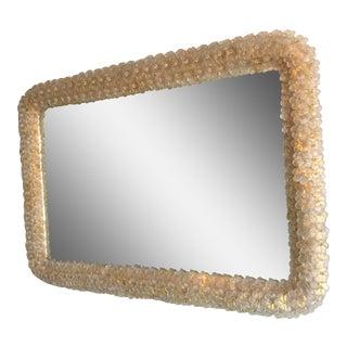 Murano Gold Daisy Mirror