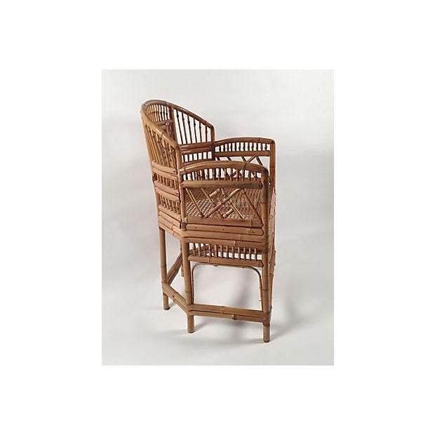 1960's Brighton Bamboo Chair - Image 5 of 7